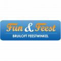 Bruiloft feestwinkel logo