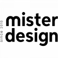 MisterDesign logo